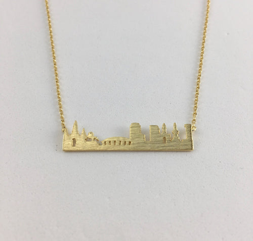 New Orleans Skyline Necklace