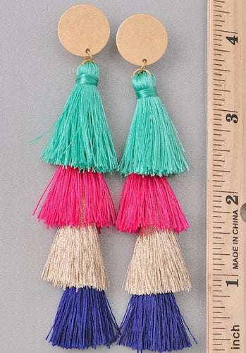 Evelyn Fringe Earrings