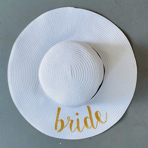 Bride To Be Sun Hat