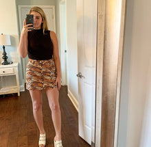 Load image into Gallery viewer, Tiger Print Skirt