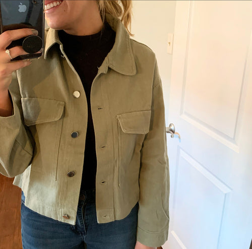 Sasha Cropped Jacket