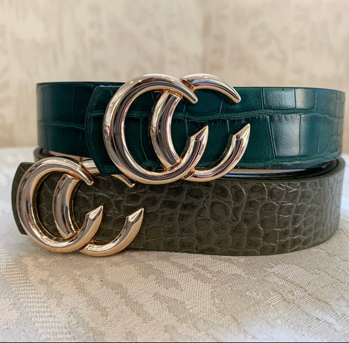 Tammy Crocodile Belt