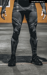 Load image into Gallery viewer, PANTHER Seamless Compression Pants