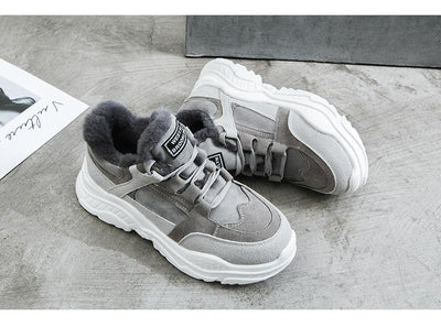 Plush Winter Sneakers