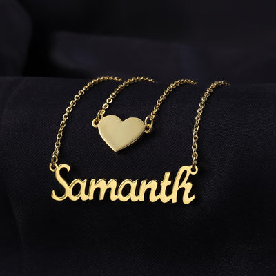Layered Heart Name