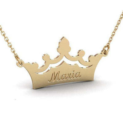 Engraved Crown Name