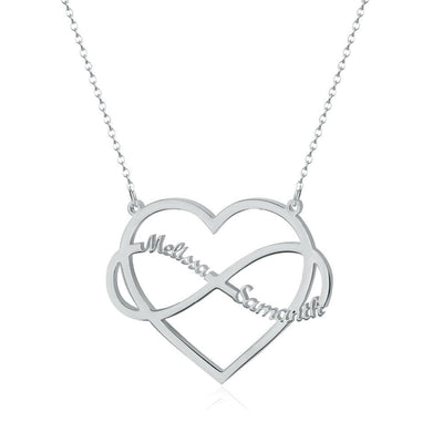 Infinity Heart Couples Name