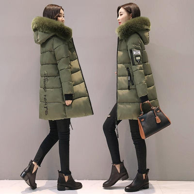 Designer Long Puffer Coat