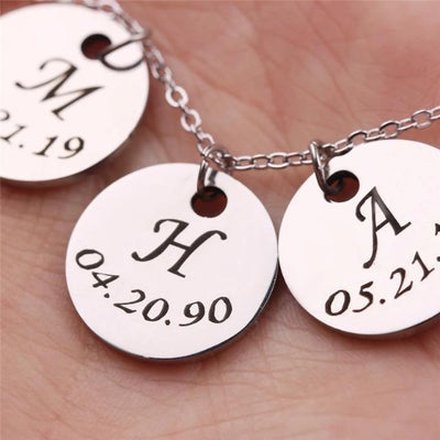 Initial Date Charm