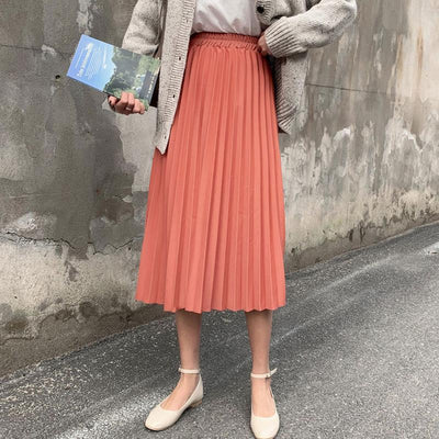 Rachel Pleated Skirt