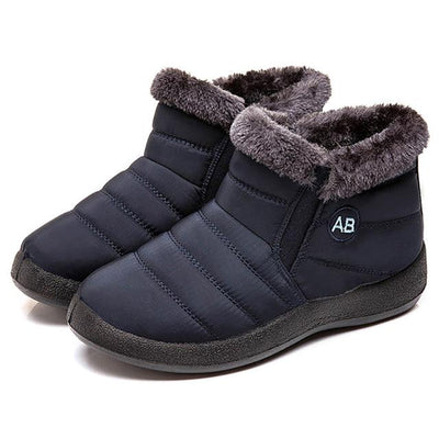Snow Ankle Plush Boots