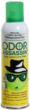 Odor Assassin Odor Eliminator, Lemon-Lime - Mi Vidorra.com
