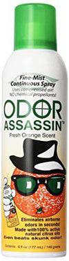 Odor Assassin Odor Eliminator, Orange - Mi Vidorra.com