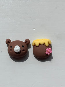 BEAR & HONEY Stud Earrings