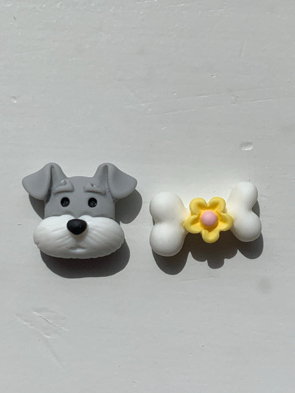 DOG & BONE Stud Earrings