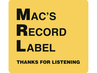 Mac's Record Label mobile logo