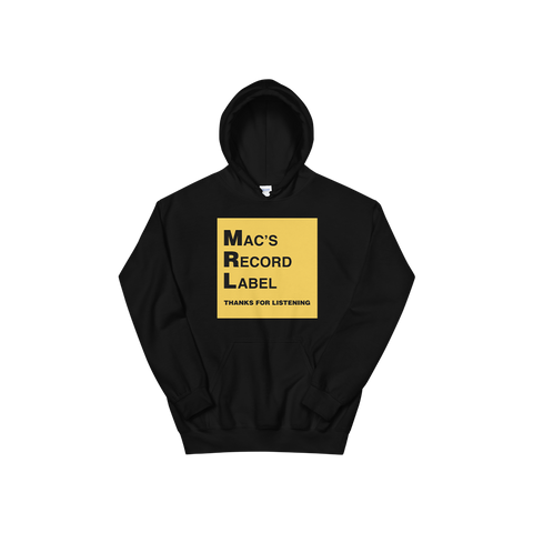 MAC'S RECORD LABEL LOGO HOODIE