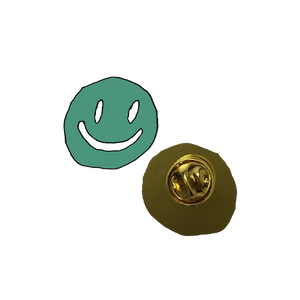 Smiley Face Enamel Pin + Digital Album