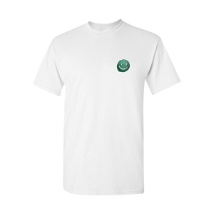 Smiley Face White T-Shirt + Digital Album