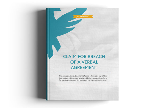 Claim for breach of a verbal agreement