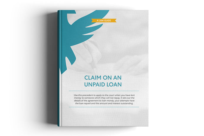 Claim on an unpaid Loan