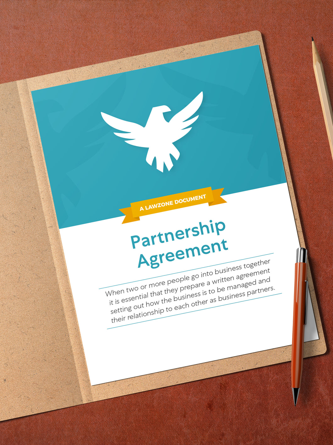 Partnership Agreement | DIY Law Document | Legal Advice Online