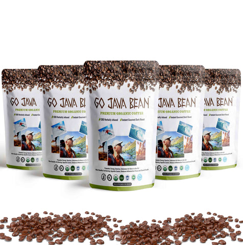 GO JAVA BEAN (5 PACK BUNDLE) - SAVE $100
