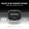 Zoom Waterproof Earbuds BlueTooth 5.0 True Wireless Earphones 1600 mAh Power Bank Case - Sikrox