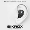 NEW 2020 SRX1 WaterProof EarBuds HD Mic Elite Titanium Performance Wireless Charging Power Bank with FREE 20800 mAh Powerbank - Sikrox