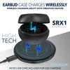 NEW 2020 SRX1 WaterProof EarBuds HD Mic Elite Titanium Performance Wireless Charging Power Bank - Sikrox