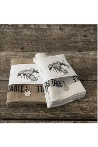 Lobster Kitchen Towel (set of 2)