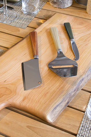 Sabre Cheese Cleaver - Grey
