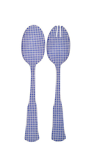 Sabre Charm Salad Set - Lapis Blue