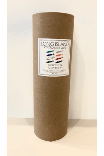 Long Island Coordinate Cups