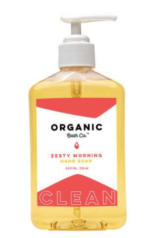 Zesty Morning Hand Soap