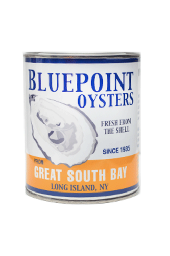 Vintage Blue Point Oyster Candle