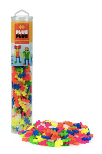 Open Play Tube - 240pc Neon Mix