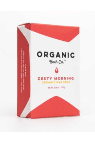 Zesty Morning Bar Soap