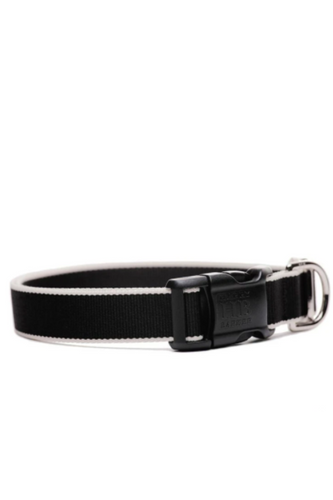 Chelsea Collar (Black & Cream)