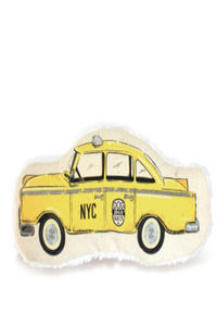 Taxicab Canvas Dog Toy