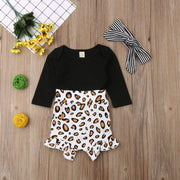 Baby Leopard Print Pants Outfits - LEOPARDFAM