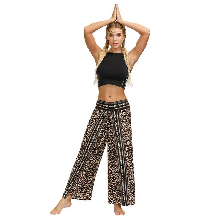 Sexy Casual Loose High Waist Yoga Pants - LEOPARDFAM