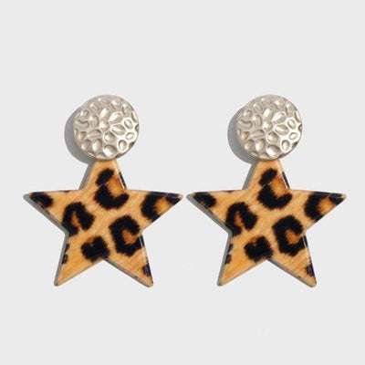Fashion Leopard Earrings - LEOPARDFAMEarrings