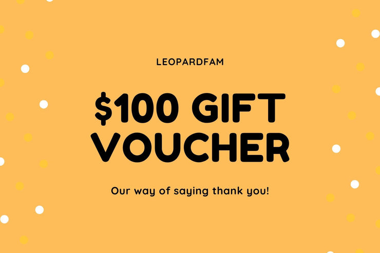 Gift Card - LEOPARDFAMGift Card