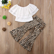 Kids Sleeveless Tops Leopard Clothes - LEOPARDFAM