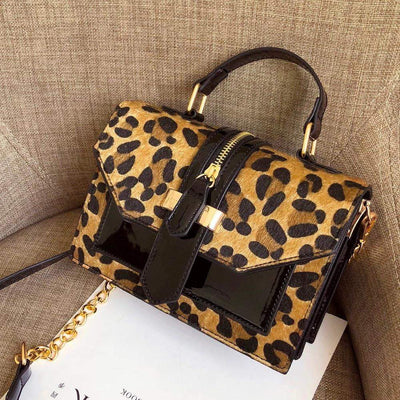 Leopard Crossbody Bag - LEOPARDFAMBags