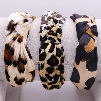 Leopard Knot Hairband - LEOPARDFAM