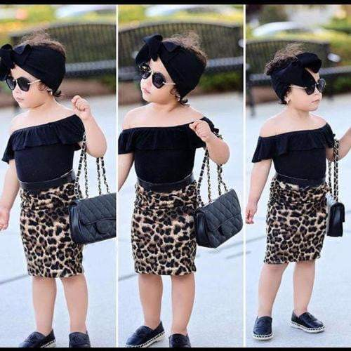 New Stylish Toddler Outfit Set - LEOPARDFAM
