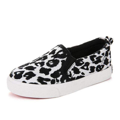 Unisex Leopard Spring Fashion Canvas Loafers - LEOPARDFAM