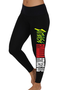 Intense Fiyaaaaa Fitness Performance Leggings- Out of Stock-